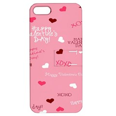 Happy Valentines Day Apple Iphone 5 Hardshell Case With Stand by Jojostore
