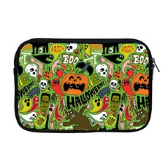 Halloween Pattern Apple Macbook Pro 17  Zipper Case