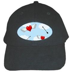 Love Hunting Black Cap by Valentinaart