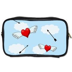 Love Hunting Toiletries Bags 2 Side by Valentinaart