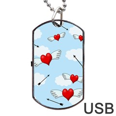 Love Hunting Dog Tag Usb Flash (one Side) by Valentinaart