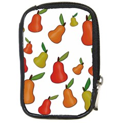 Decorative Pears Pattern Compact Camera Cases by Valentinaart