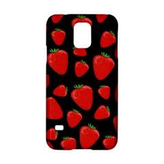 Strawberries Pattern Samsung Galaxy S5 Hardshell Case  by Valentinaart
