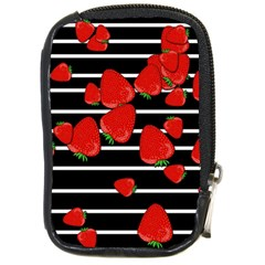 Strawberries  Compact Camera Cases by Valentinaart