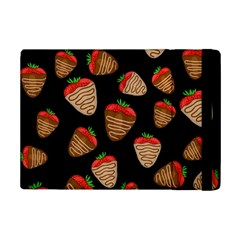 Chocolate Strawberries Pattern Ipad Mini 2 Flip Cases by Valentinaart