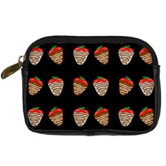 Chocolate Strawberies Digital Camera Cases by Valentinaart