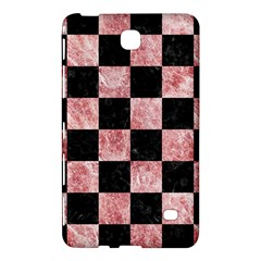 Square1 Black Marble & Red & White Marble Samsung Galaxy Tab 4 (8 ) Hardshell Case  by trendistuff
