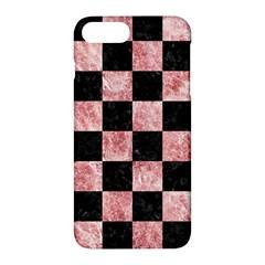 SQR1 BK-RW MARBLE Apple iPhone 7 Plus Hardshell Case by trendistuff