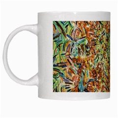 Art Modern Painting Acrylic Canvas White Mugs by Amaryn4rt