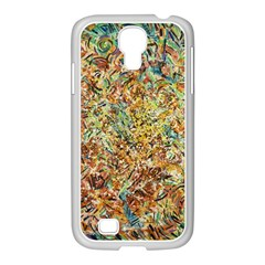 Art Modern Painting Acrylic Canvas Samsung Galaxy S4 I9500/ I9505 Case (white) by Amaryn4rt