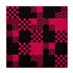 Cube Square Block Shape Creative Tile Coasters by Amaryn4rt