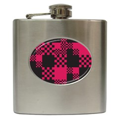 Cube Square Block Shape Creative Hip Flask (6 Oz) by Amaryn4rt
