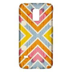Line Pattern Cross Print Repeat Galaxy S5 Mini by Amaryn4rt
