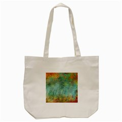 Rainforest Tote Bag (cream) by theunrulyartist