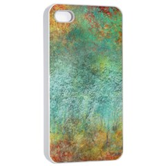 Rainforest Apple Iphone 4/4s Seamless Case (white) by theunrulyartist