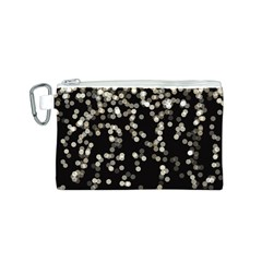 Christmas Bokeh Lights Background Canvas Cosmetic Bag (s) by Amaryn4rt