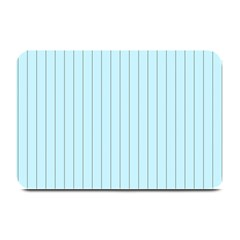 Stripes Striped Turquoise Plate Mats by Amaryn4rt