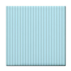 Stripes Striped Turquoise Face Towel by Amaryn4rt