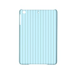 Stripes Striped Turquoise Ipad Mini 2 Hardshell Cases by Amaryn4rt