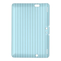 Stripes Striped Turquoise Kindle Fire Hdx 8 9  Hardshell Case by Amaryn4rt