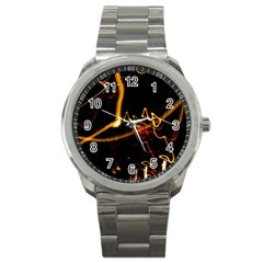 Abstract Sport Metal Watch by Amaryn4rt