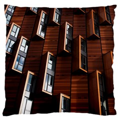 Abstract Architecture Building Business Large Cushion Case (two Sides) by Amaryn4rt