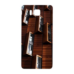 Abstract Architecture Building Business Samsung Galaxy Alpha Hardshell Back Case by Amaryn4rt