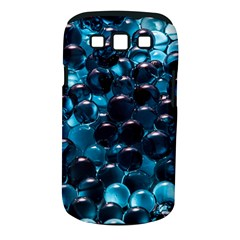 Blue Abstract Balls Spheres Samsung Galaxy S Iii Classic Hardshell Case (pc+silicone)