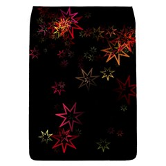 Christmas Background Motif Star Flap Covers (s)