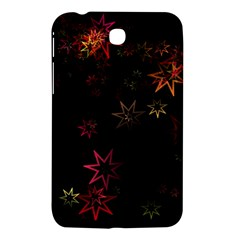 Christmas Background Motif Star Samsung Galaxy Tab 3 (7 ) P3200 Hardshell Case  by Amaryn4rt