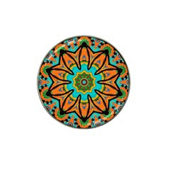 Color Abstract Pattern Structure Hat Clip Ball Marker (4 Pack) by Amaryn4rt