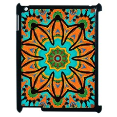Color Abstract Pattern Structure Apple Ipad 2 Case (black)