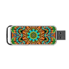 Color Abstract Pattern Structure Portable Usb Flash (two Sides)