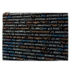 Close Up Code Coding Computer Cosmetic Bag (xxl)  by Amaryn4rt