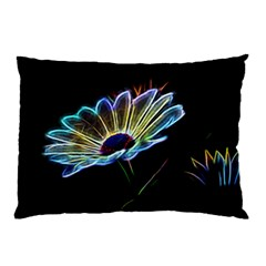 Flower Pattern Design Abstract Background Pillow Case by Amaryn4rt