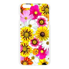 Flowers Blossom Bloom Nature Plant Apple Seamless iPhone 6 Plus/6S Plus Case (Transparent) by Amaryn4rt