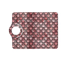 Scales2 Black Marble & Red & White Marble (r) Kindle Fire Hd (2013) Flip 360 Case by trendistuff
