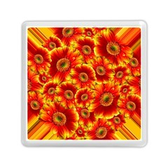 Gerbera Flowers Blossom Bloom Memory Card Reader (square)