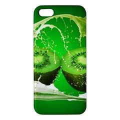 Kiwi Fruit Vitamins Healthy Cut Iphone 5s/ Se Premium Hardshell Case by Amaryn4rt