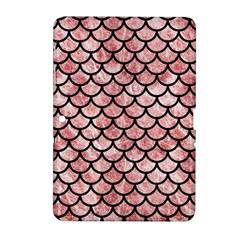 SCA1 BK-RW MARBLE (R) Samsung Galaxy Tab 2 (10.1 ) P5100 Hardshell Case  by trendistuff