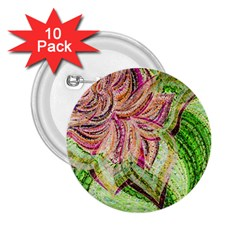 Colorful Design Acrylic 2 25  Buttons (10 Pack)  by Amaryn4rt