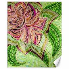 Colorful Design Acrylic Canvas 11  X 14   by Amaryn4rt