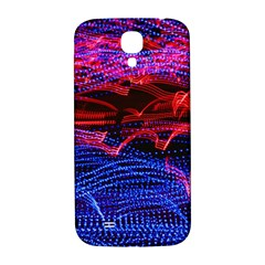 Lights Abstract Curves Long Exposure Samsung Galaxy S4 I9500/i9505  Hardshell Back Case by Amaryn4rt