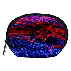 Lights Abstract Curves Long Exposure Accessory Pouches (medium)  by Amaryn4rt