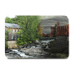 Landscape Summer Fall Colors Mill Plate Mats by Amaryn4rt