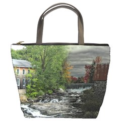 Landscape Summer Fall Colors Mill Bucket Bags by Amaryn4rt