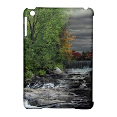 Landscape Summer Fall Colors Mill Apple Ipad Mini Hardshell Case (compatible With Smart Cover)