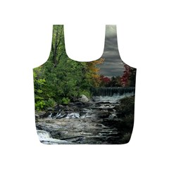 Landscape Summer Fall Colors Mill Full Print Recycle Bags (s)  by Amaryn4rt