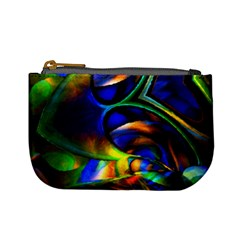 Light Texture Abstract Background Mini Coin Purses