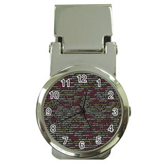 Full Frame Shot Of Abstract Pattern Money Clip Watches by Amaryn4rt